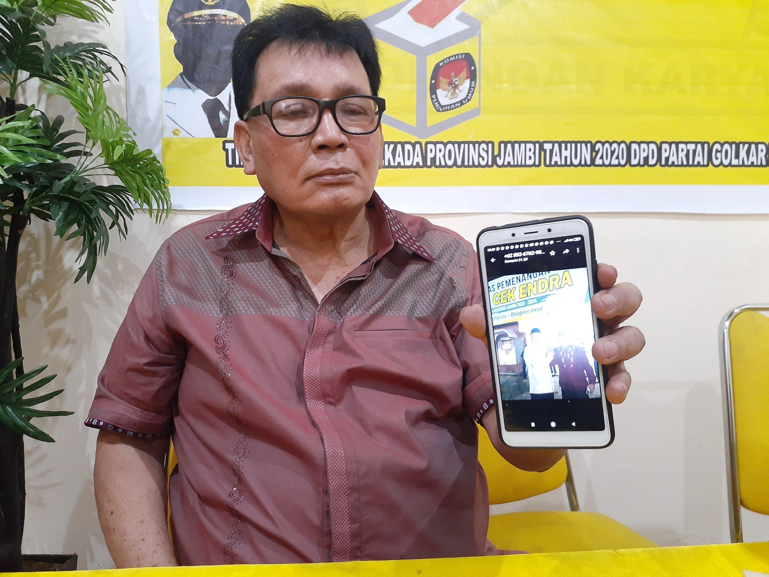 Kemas Faruq Mundur Dari Pencalonan Ketua DPD 1 Golkar