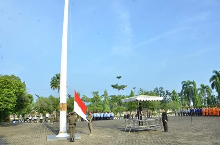 Pemerintah Kabupaten (Pemkab) Batanghari gelar upacara memperingati Hari Kesadaran Nasional