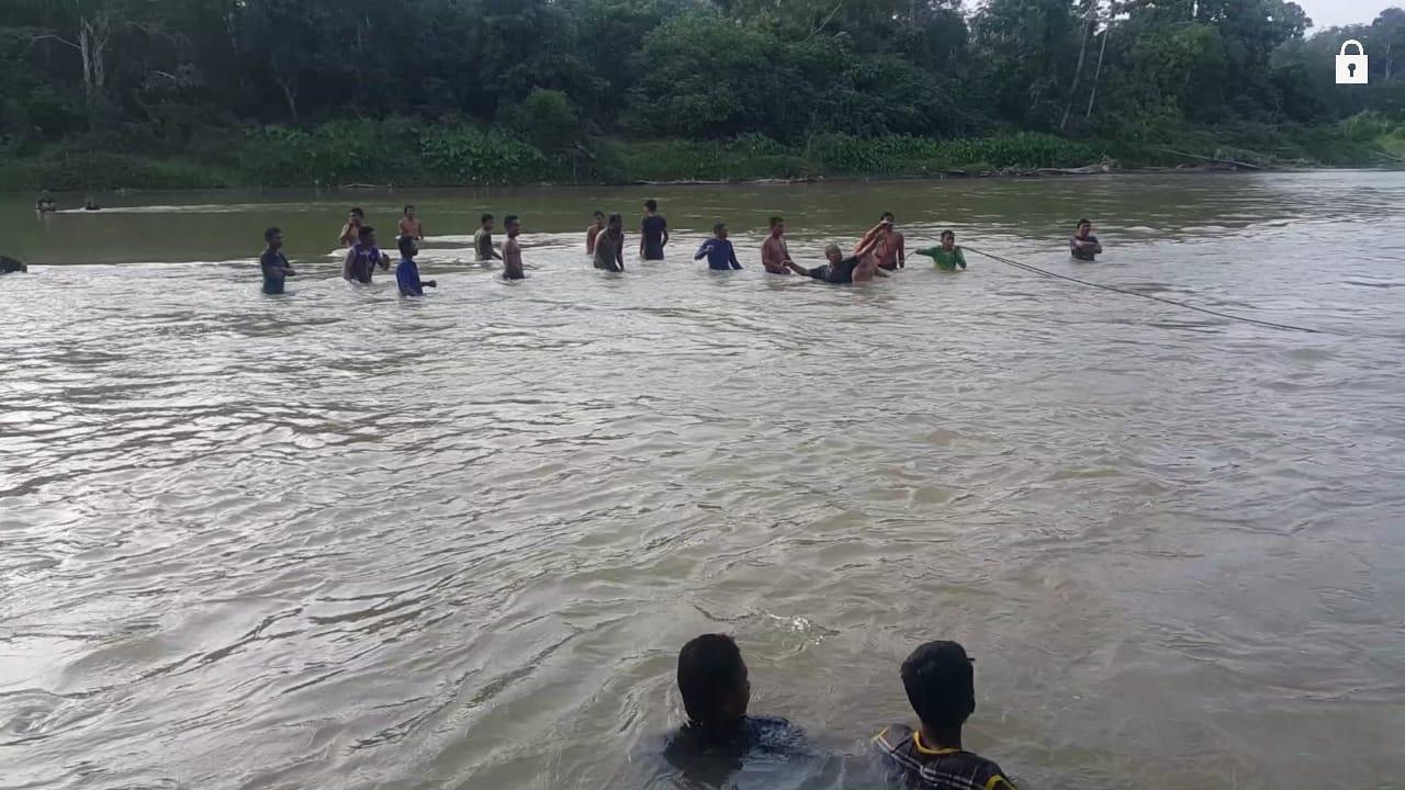 Merangin Bocah Usia Delapan Tahun Tenggelam