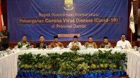Provinsi Jambi Perkuat Sinergitas Hadapi Covid - 19