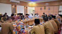 Bupati Sukandar Melakukan Audiensi Bersama Pimpinan Salafi