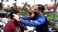Fraksi Nasdem Peduli Covid-19, Bagikan Ratusan Masker Ke Masyarakat